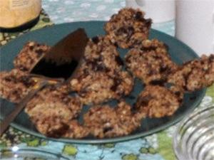 Lunkne cookies klare til å bli revet vekk