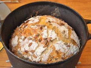 Hell brødet ut av gryten straks det er ferdigstekt